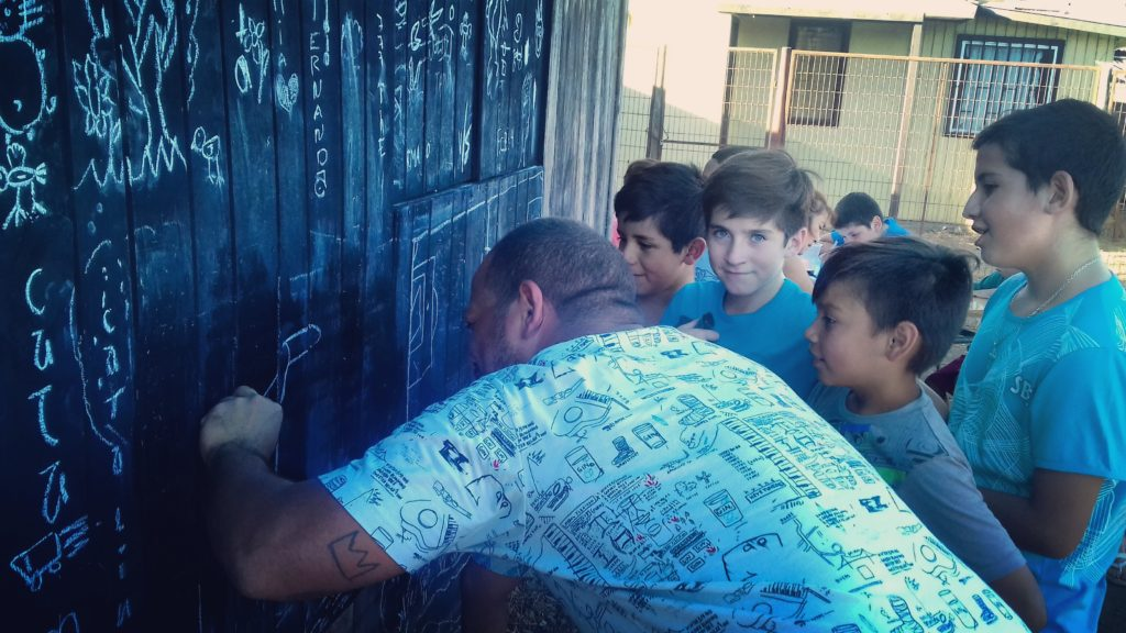 2016_SOCIAL_SUMMER_CAMP. Intervención Junta de Vecinos Julio Tapia. CHILE