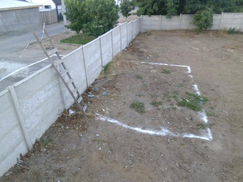"la ""cancha"" de voleibol"