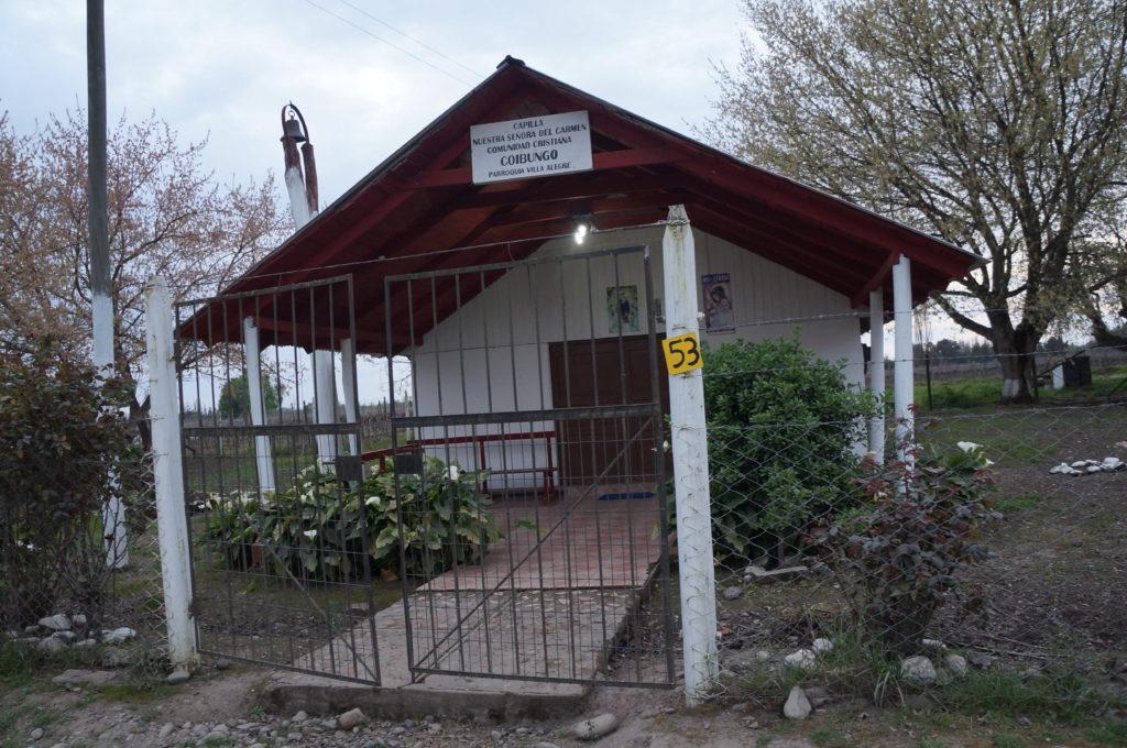 Capilla de Coibungo. Febrero,2016.